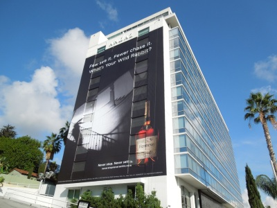 hennessey wild rabbit billboard